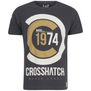 Crosshatch Men's Fazedown T-Shirt - Forged Iron