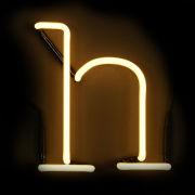 Seletti Neon Letter H