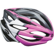 Bell Array Cycling Helmet -White/Black/Pink- 2014