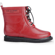 Ilse Jacobsen Women's Short Rubber Boots - Red - 3 3Red