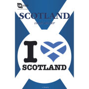 Scotland I Love - Vinyl Sticker - 10 x 15cm