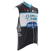 Omega Pharma Quickstep Team Replica Kaos Trevalli Gilet - Black 2014