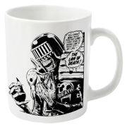 2000AD Judge Death Mug