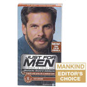 Just for Men Beard and Moustache Colour Gel Ash Brown
