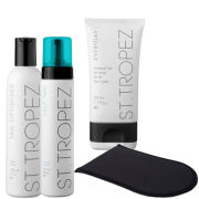 St. Tropez Face and Body Self Tanning Kit - Medium/ Dark (4 Products)