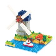 Nanoblock Kinderdijk Elshout Windmill