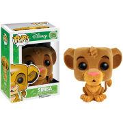 Disney The Lion King Simba Flocked Pop! Vinyl Figure