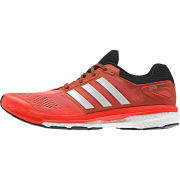 adidas Men's Supernova Glide 7 Running Shoes - Red/Black