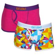 Luis & Juke 2 Pack Open Fly Short - Vinyl Brights