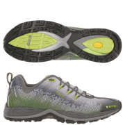 Hi-Tec V-Lite Infinity HPi Mens Trail Running Shoe - Grey/Green/Silver