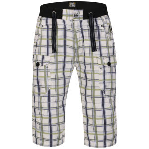 Osaka Men's Tiger Bedford Shorts - Lime