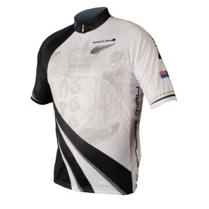 Endura Coolmax New Zealand Flag Cycling Jersey