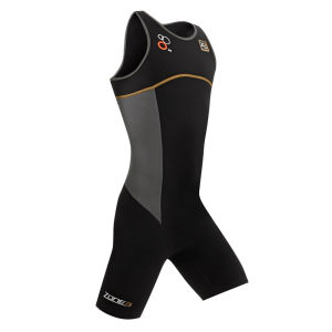 Zone3 Men's Aeroforce Elite Triathlon Suit - Black/Grey/White