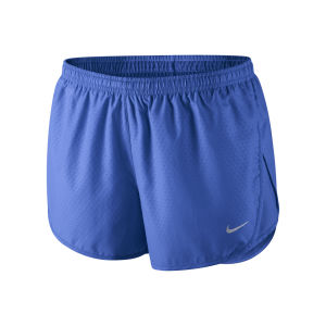 Nike Women's Tempo Emboss Run Shorts - Cobalt Blue