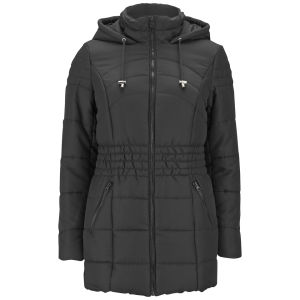 Vero Moda Women's Sona Long Padded Coat - Black