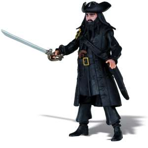 Pirates Of The Caribbean - Basic Figure Wave #1 Blackbeard