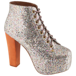 Jeffrey Campbell Women's Lita Boots - Multi Glitter