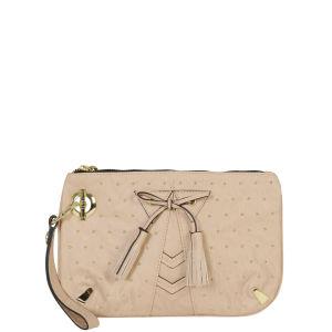 Mischa Barton Rockness Studded Clutch - Blush