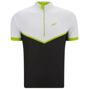 PBK Heritage St-Germain Short Sleeve Jersey - Black/White/Green