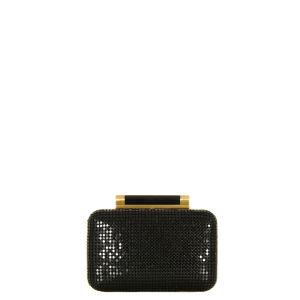 Diane von Furstenberg Tonda Small Chain Mail Clutch Bag - Black