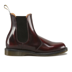 Dr. Martens Women's Kensington Flora Arcadia Leather Chelsea Boots - Cherry Red