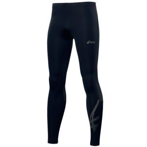 Asics Men's Tiger Tights - Black/Stone