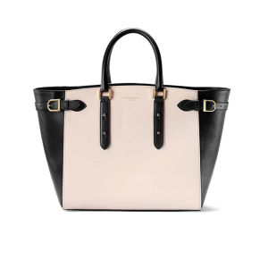 Aspinal of London Women's Marylebone Tote Bag - Monochrome