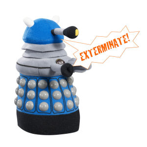 Doctor Who: Medium Blue Dalek Talking Plush