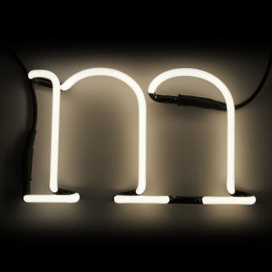 Seletti Neon Wall Light - Letter M