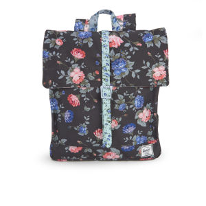 Herschel City Mid-Volume Backpack - Black Floral