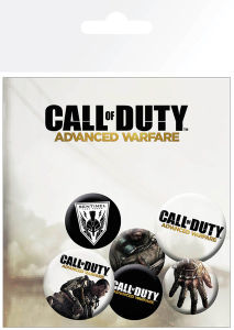 Call of Duty Advanced Warfare Mix - Badge Pack