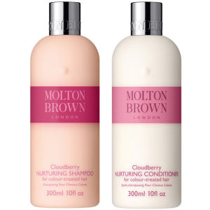 Molton Brown Cloudberry Nurturing Shampoo & Conditioner 300ml (Bundle)