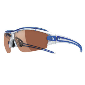 adidas Evil Eye Halfrim Pro Sunglasses - Crystal Blue - S