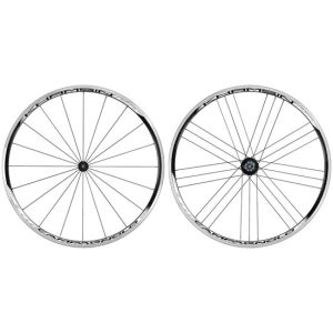 Campagnolo Khamsin™ Asymmetric Black cl. Front & Rear Wheels