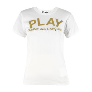 Comme des Garcons PLAY Women's AZ-T133 T-Shirt - White