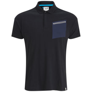 Boxfresh Men's Kebbie Tech Pocket Polo - Black