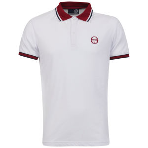 Sergio Tacchini Men's Society Polo-Shirt - White