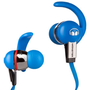 Monster iSport Immersion Noise Isolating Earphones with ControlTalk - Blue