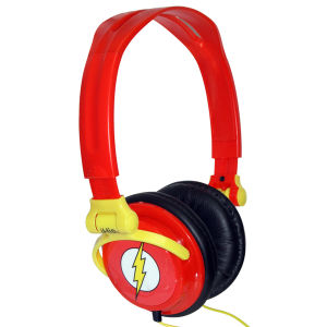iHip DC Comics Flash Folding Headphones