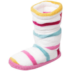 Joules Junior Girls' Slippersocks - Creme