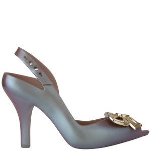 Vivienne Westwood for Melissa Women's Lady Dragon 11 Heeled Sandals - Aurora Purple Bow
