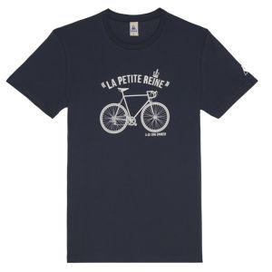 Le Coq Sportif Tour de France N9 Short Sleeved T-Shirt - Blue