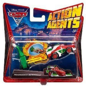 Cars 2: Action Agents Vehicle & Launcher Francesco Bernoulli