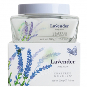 Crabtree & Evelyn Lavender Body Cream (200G)