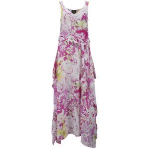 Vivienne Westwood Anglomania Women's Zeta Maxi Dress - Fuchsia