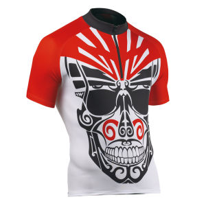 Northwave Ghost Rider Short Sleeve Jersey - White/Red