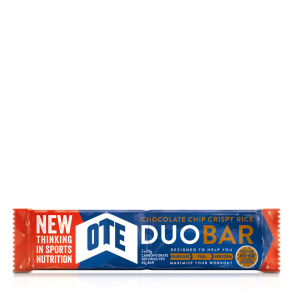 OTE Duo Bar Box of 24 x 65g Bars - Chocolate Chip
