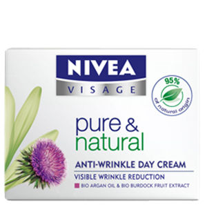 Nivea Visage Pure & Natural Anti-Wrinkle Day Cream (50ml)