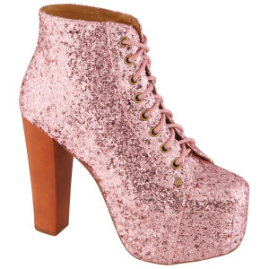 Jeffrey Campbell Women's Lita Boots- Rose Glitter