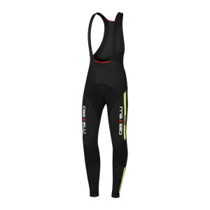 Castelli Sorpasso Bib Tights - Black/Yellow